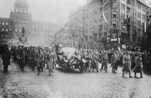 návrat TGM 1918